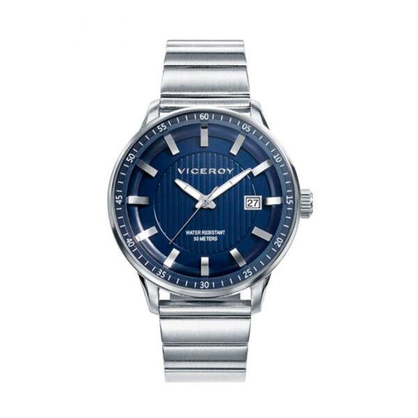 Reloj Viceroy Icon Hombre 42317-37 Acero esfera azul
