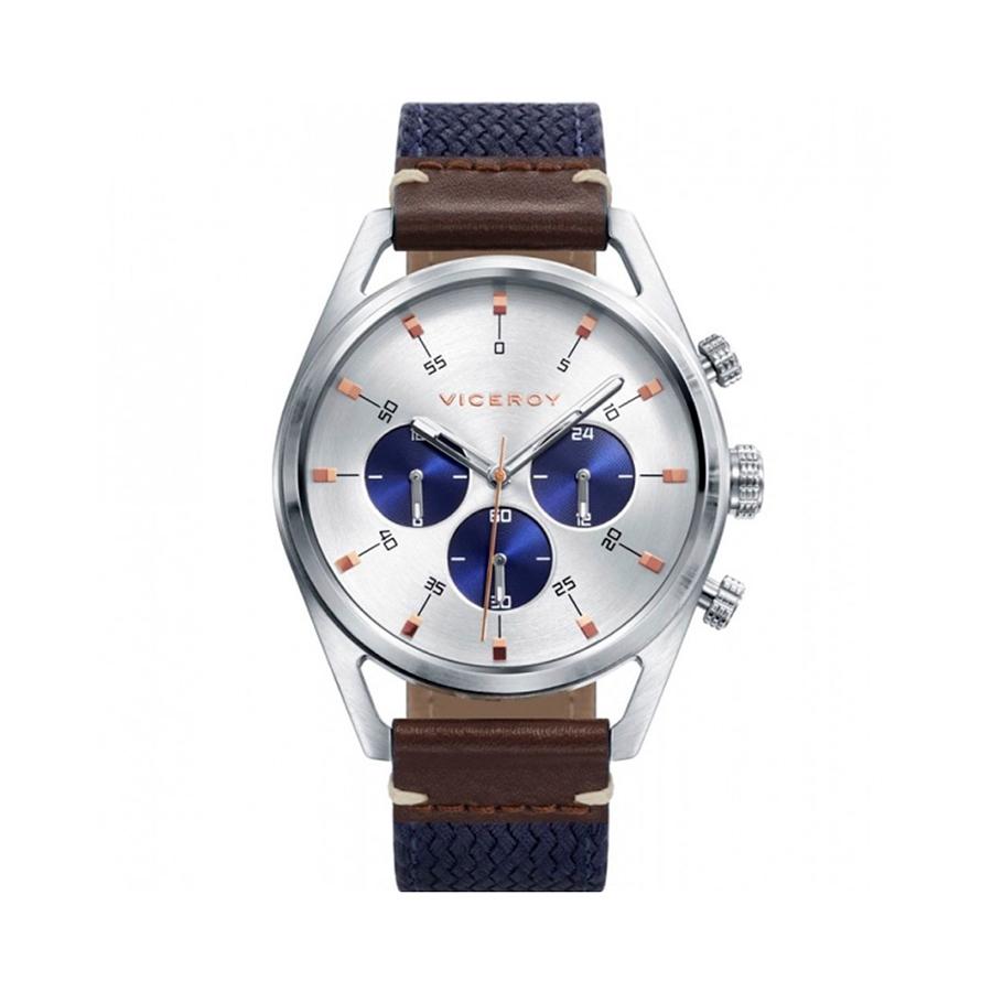 Reloj Viceroy Icon Hombre_42349-07 Cronómetro Acero