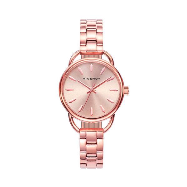 Reloj Viceroy Kiss Mujer 471094-97 Acero esfera rosada
