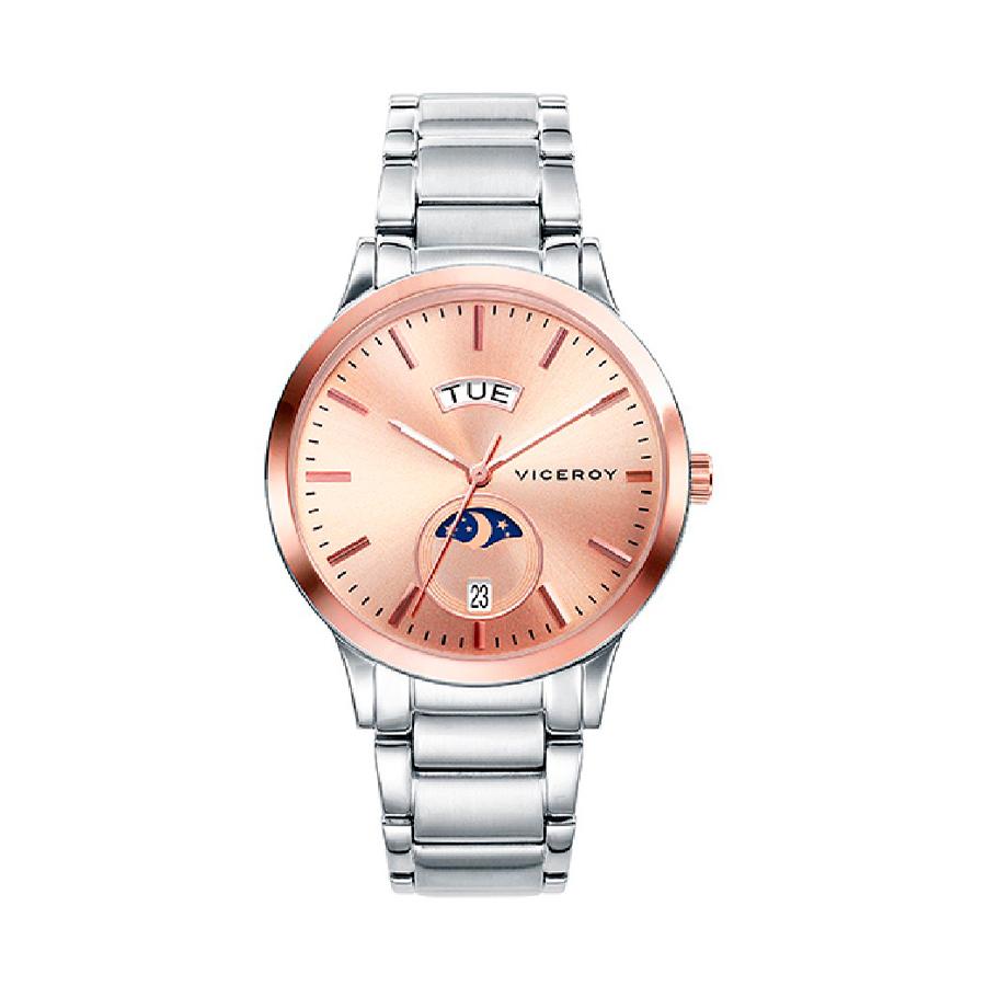 Reloj Viceroy Kiss Mujer 471096-97 Acero esfera rosada