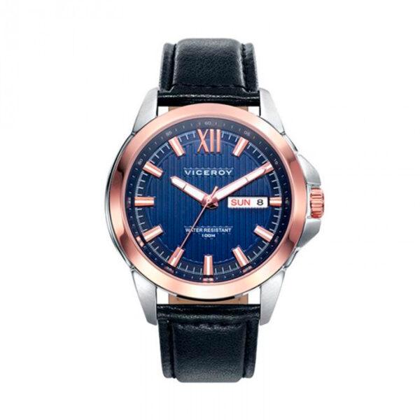 Reloj Viceroy Magnum Hombre 46709-33 Correa piel negra