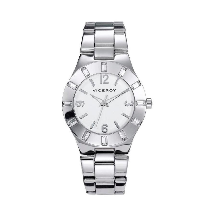 Reloj Viceroy Mujer 40710-05 Acero esfera blanca