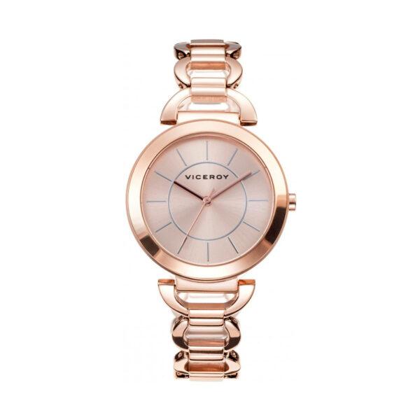 Reloj Viceroy Mujer 40822-27 Analógico acero rosado
