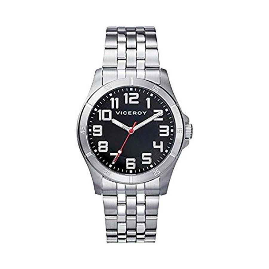 Reloj Viceroy Mujer 432321-55 Acero esfera negra con aguja roja