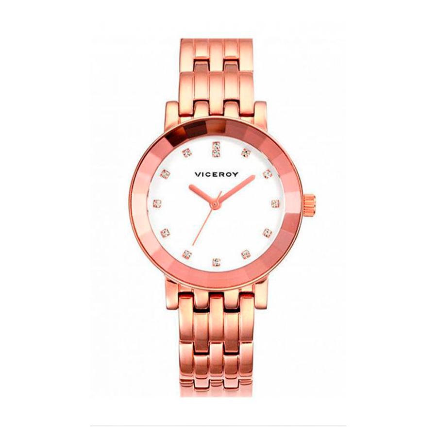 Reloj Viceroy Mujer 47814-00 Analógico mujer acero rosado