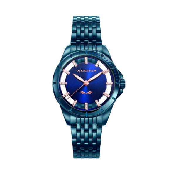 Reloj Viceroy New Mujer 40934-37 Analógico acero azul