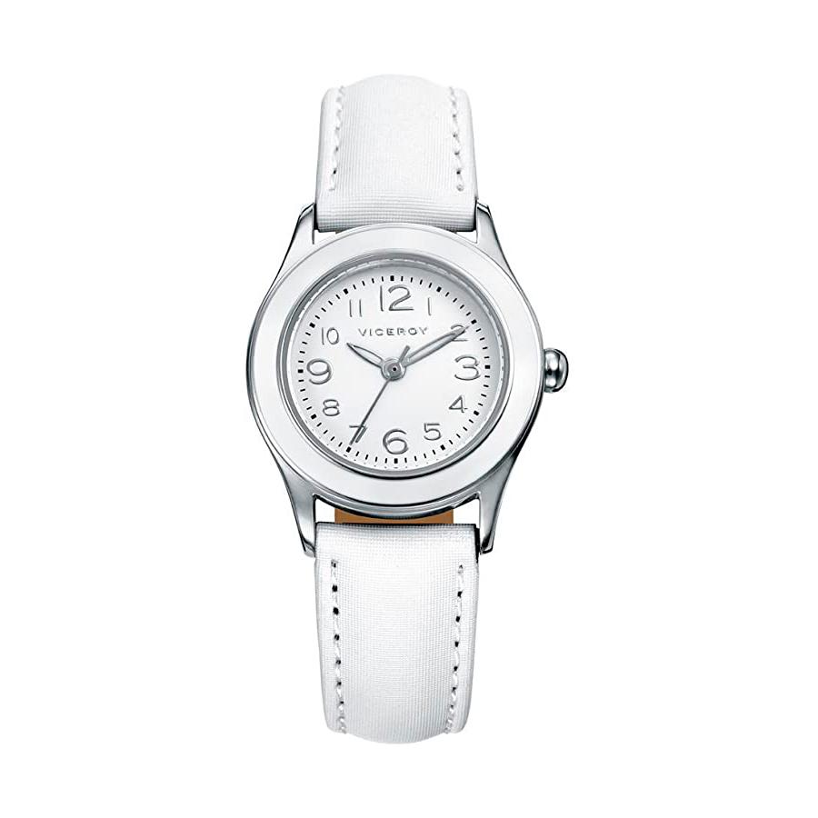Reloj Viceroy Niña 46902-05 Analógico correa de piel blanca