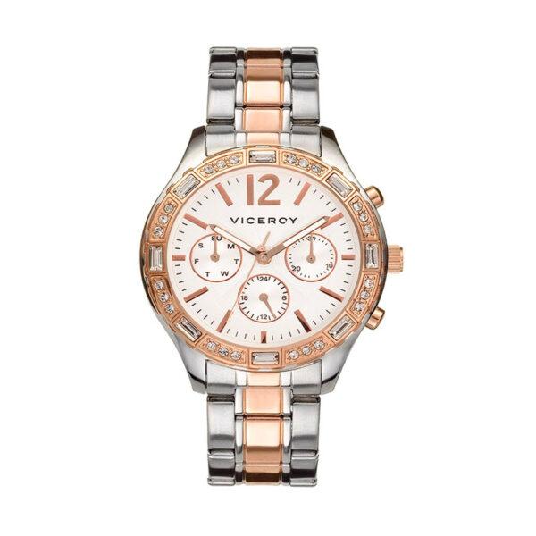 Reloj Viceroy Shakira essential Mujer 40748-05 Multifunción bicolor