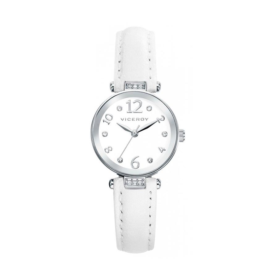 Reloj Viceroy Sweet Niña 461050-05 Analógico piel blanca