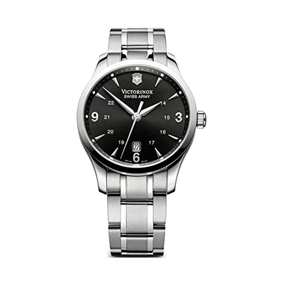 Reloj Victorinox Alliance Hombre V241473 Acero plata con esfera negra