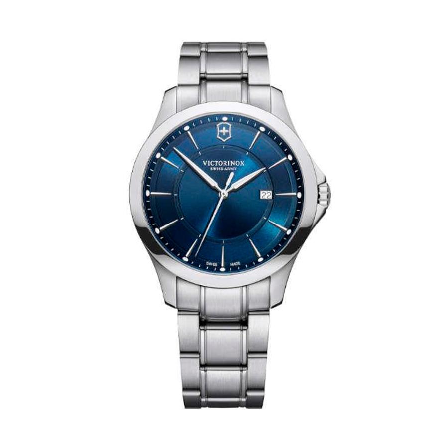 Reloj Victorinox Alliance Hombre V241910 Acero plata con esfera azul