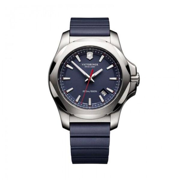 Reloj Victorinox Fieldforce Hombre V241688.1 Acero esfera azul y correa caucho azul